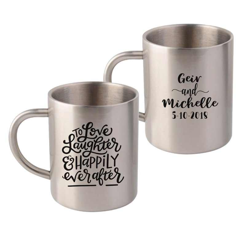Sublimated Stainless Steel Mugs