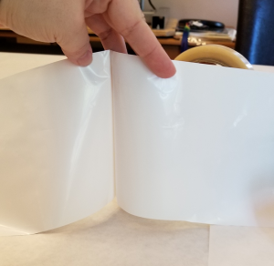 Shrink Wrap Sleeve with Side Cut Open