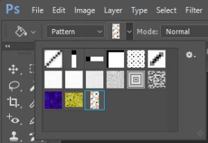 Pattern Options in Photoshop