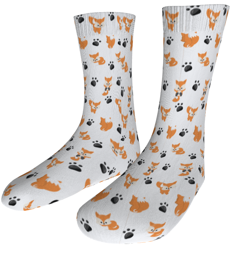 Sublimated Sock Mockup