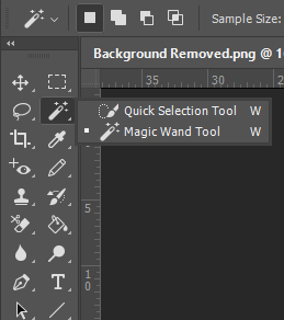 The Quick Select Tool